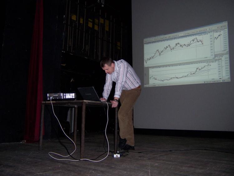 Výroční schůzka ČNATA 6.12. 2008 V divadle Na Zábradlí