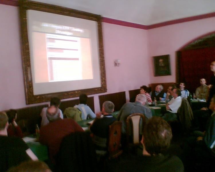 Členská schůze ČNATA 29.3.2008 - Praha