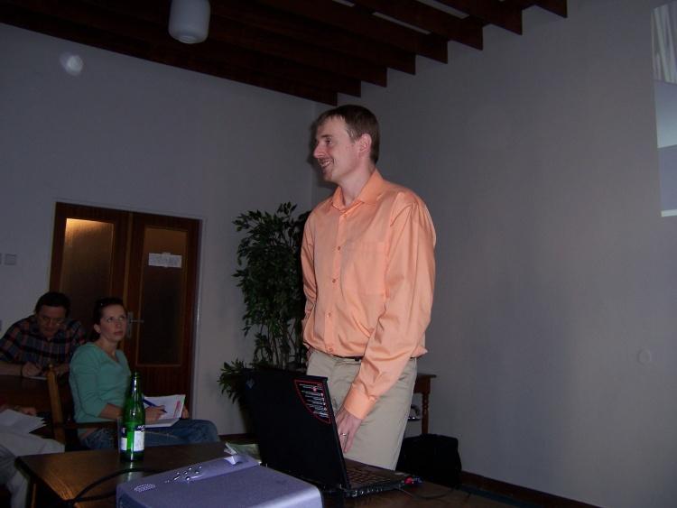 Schůzka ČNATA 23.9. 2006
